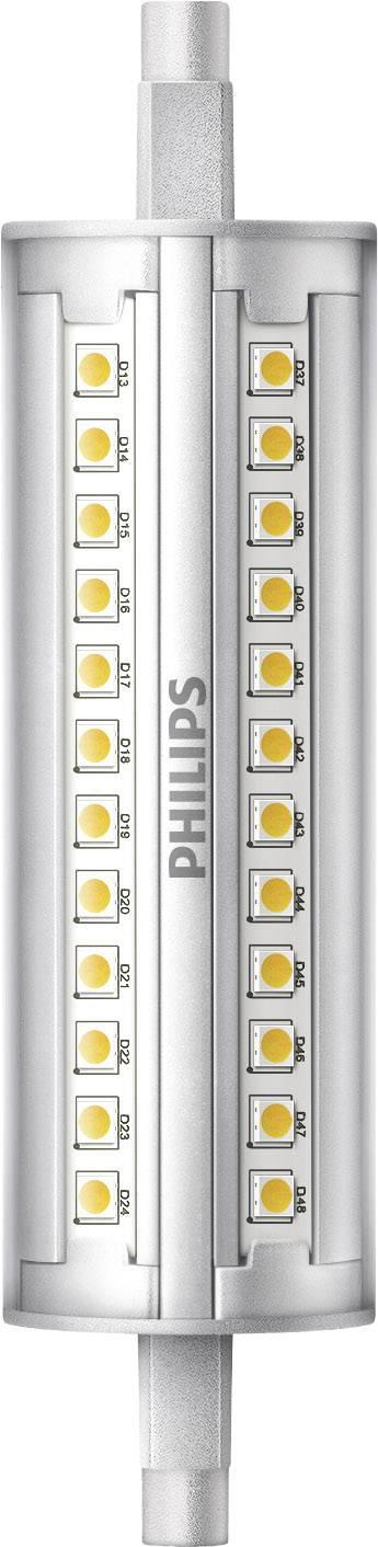 LED žárovka Philips Lighting 230 V, R7s, 14 W = 100 W, 118 mm, teplá bílá, A+ stmívatelná, 1 ks