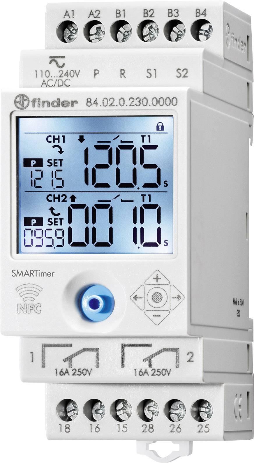 Multifunkční časové relé SMARTimer s NFC Finder 84.02.0.230.0000, 1 ks
