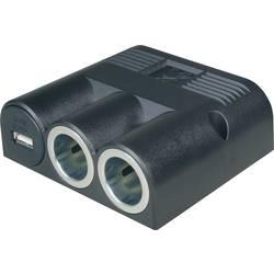 ProCar Vestavná zásuvková lišta s 2 zásuvkami, 3 a, 1 USB a 2 zásuvkami Proudová zatížitelnost (max.)=16 A Vhodný pro Zástrčka do autozásuvky
