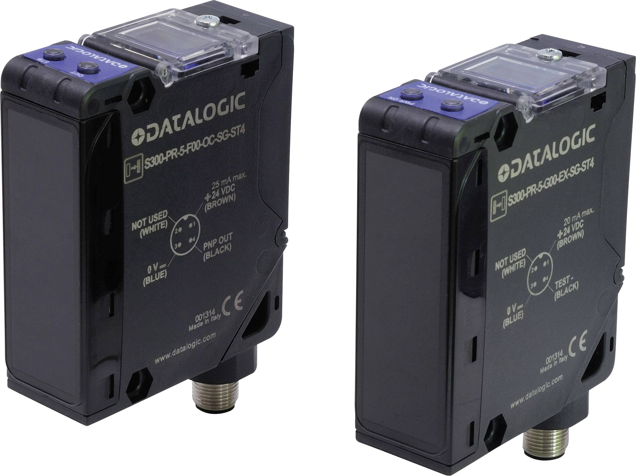 Reflexná svetelná závora DataLogic S300-PR-1-M01-RX 951451180, max. dosah 2.5 m