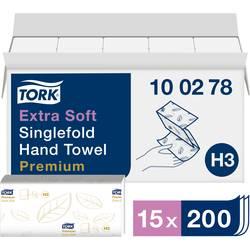 Papírové utěrky, skládané TORK Zickzack Premium 100278