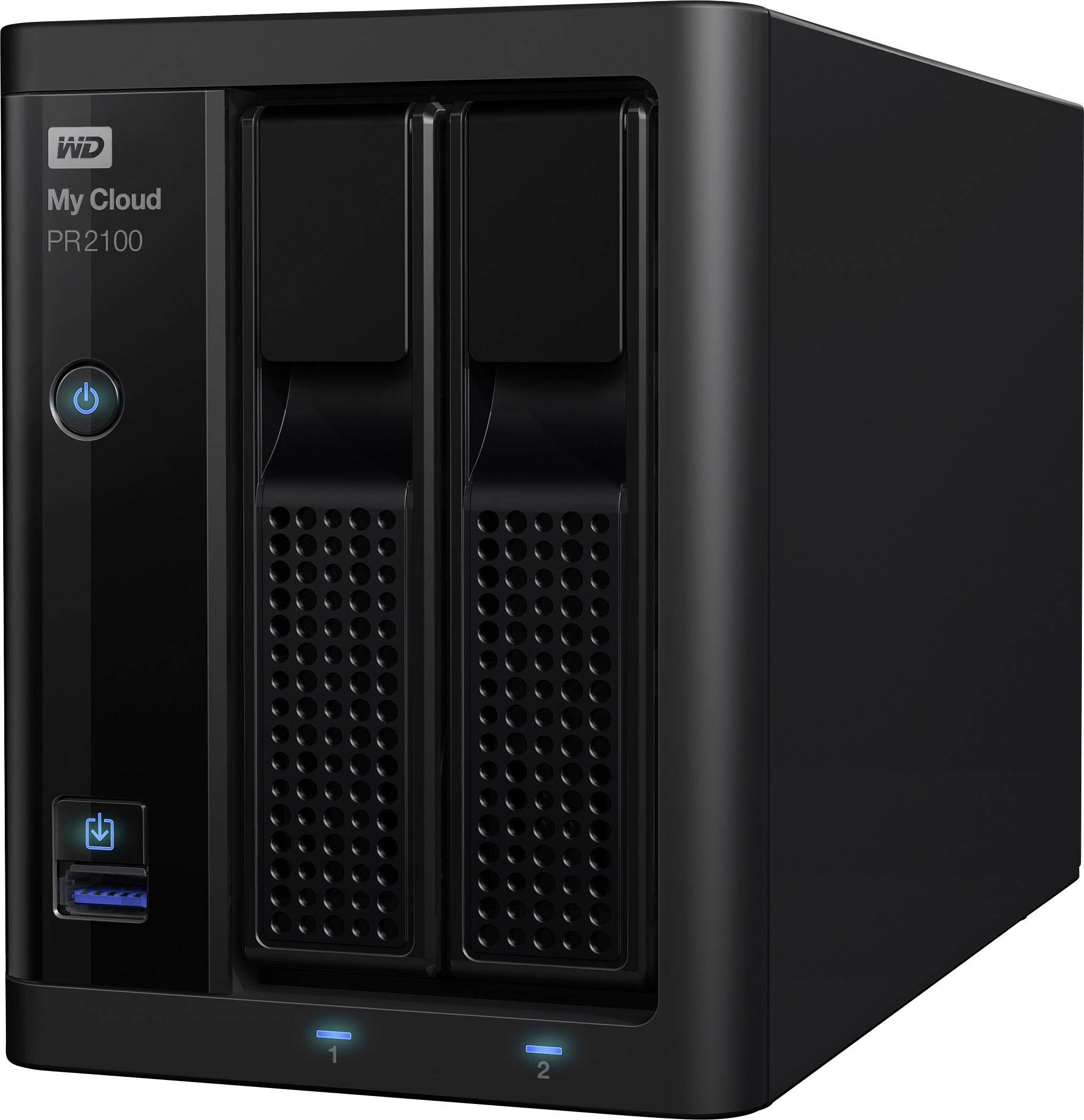 NAS server Western Digital My Cloud™ Pro PR2100 WDBBCL0120JBK-EESN, 12 TB