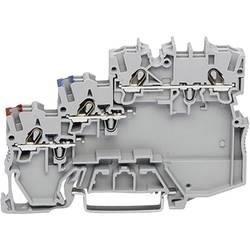 Svorka WAGO 2000-5311, pružinová svorka, 7 mm, sivá, 50 ks