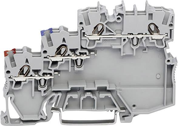 Svorka pro iniciační prvky WAGO 2000-5311, pružinová svorka, 7 mm, šedá, 50 ks
