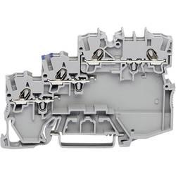 Svorka akčného člena WAGO 2000-5310/102-000, pružinová svorka, 7 mm, sivá, 50 ks