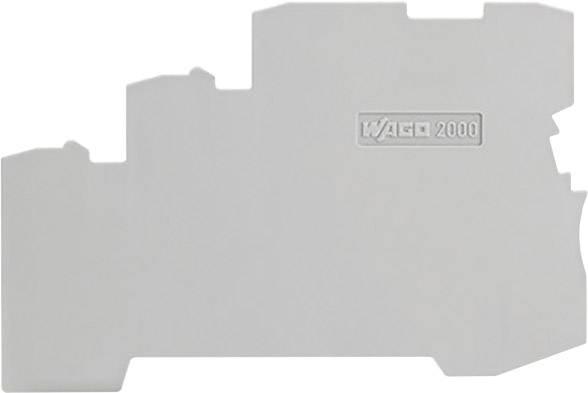Koncová a oddělovací deska, WAGO 2000-5391, 100 ks