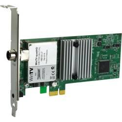 DVB-T2 (anténa), DVB-T (anténa), DVB-C (kabel) PCIe x1- Hauppauge WinTV-quadHD s dálkovým ovládáním počet tunerů: 4