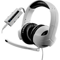 Thrustmaster Y-300CPX herní headset na kabel přes uši, s USB, jack 3,5 mm, bílá, černá