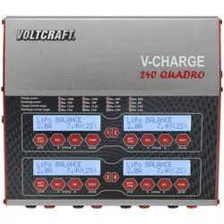 Modelářská multifunkční nabíječka VOLTCRAFT V-Charge 240 Quadro, 12 V, 230 V, 12 A, 1489899