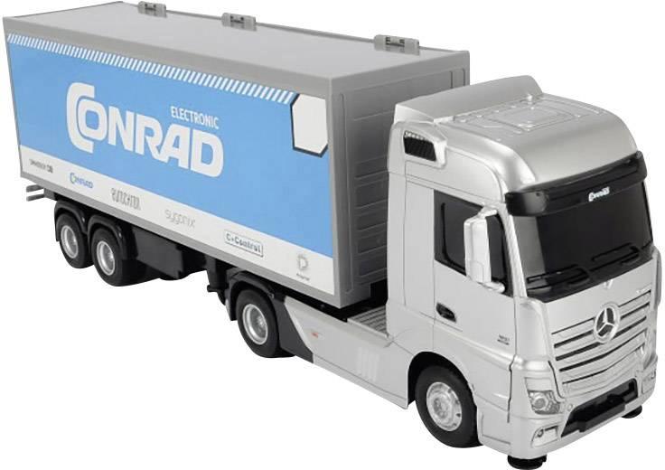 RC model auta kamion Dickie Toys Mercedes Benz Actros « Conrad » 201119884