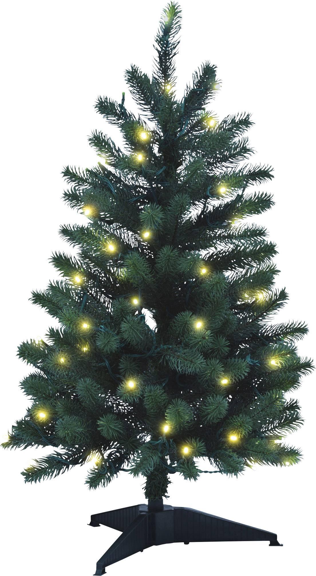 Svíticí vánoční stromky