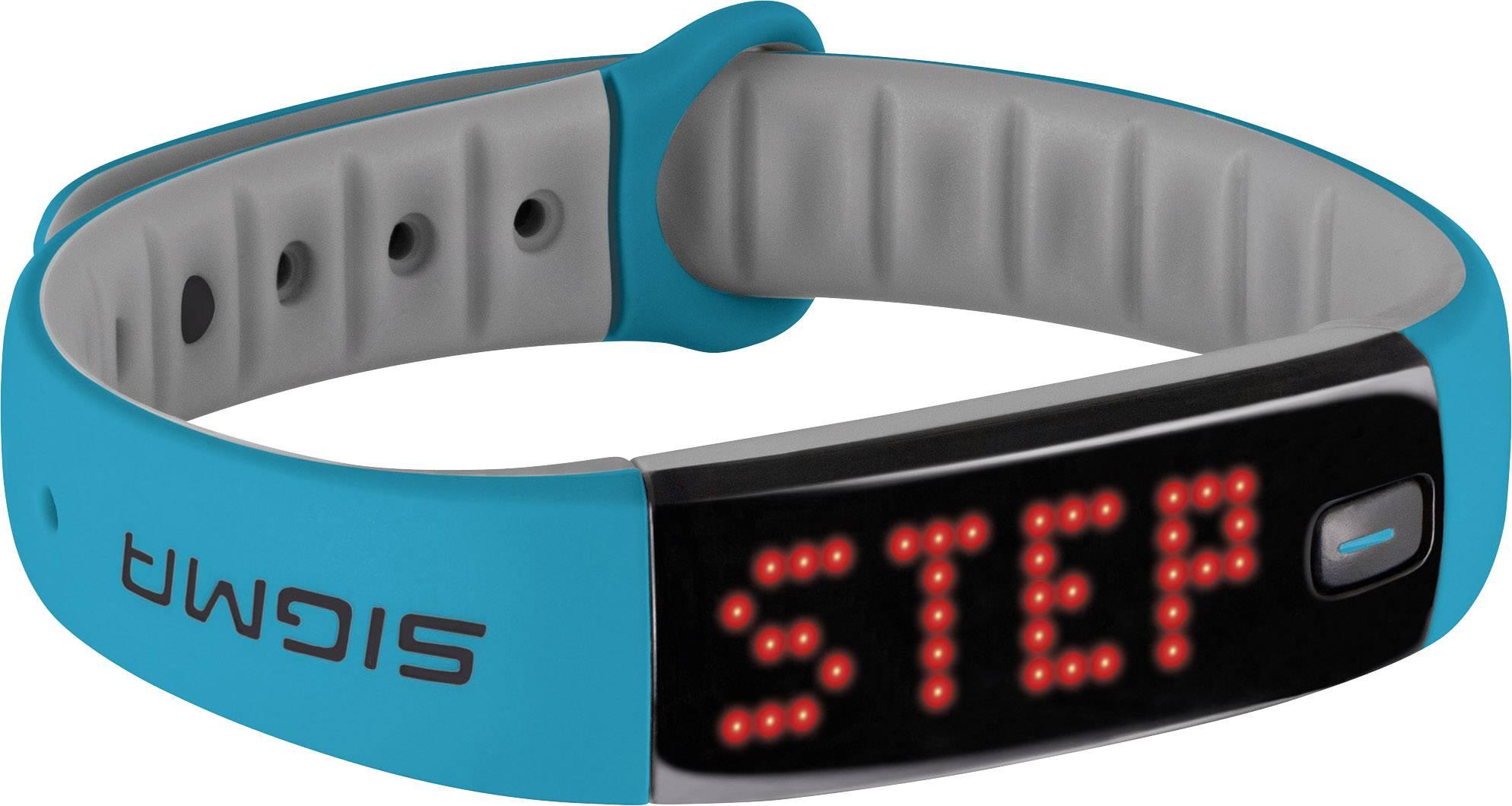 Fitness hodinky Sigma ACTIVO, velikost: uni, nebeská modř