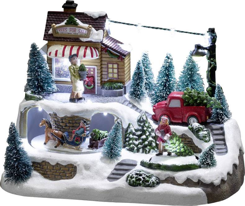 LED svietiaca vianočná krajina Konstsmide 3447-000