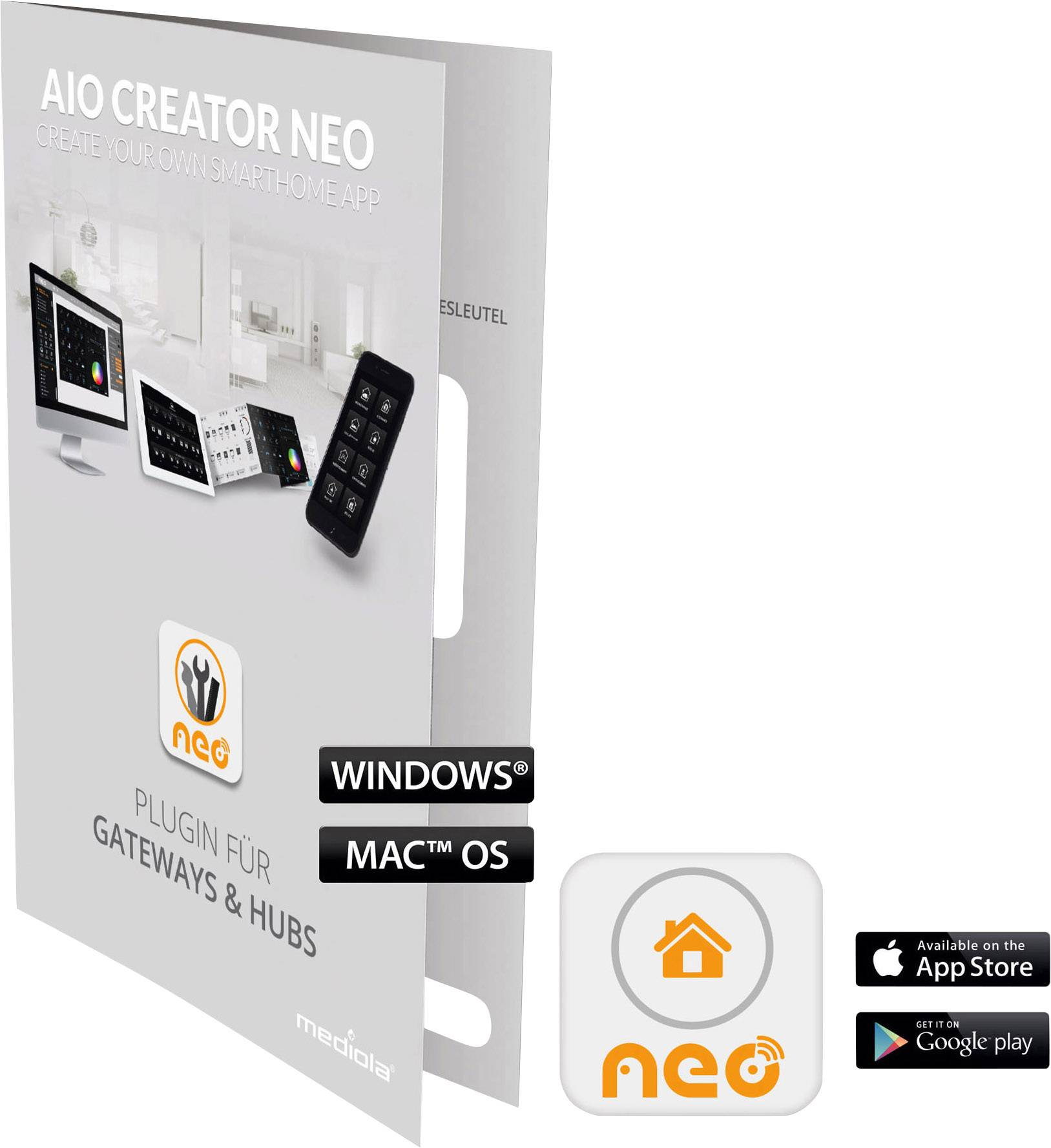 Doplňujúci software Mediola SUM-4129-b AIO CREATOR NEO Intertechno ITGW-433