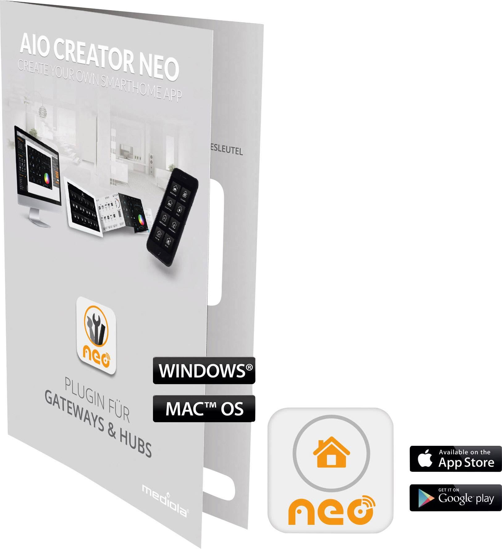 Doplňujúci software Mediola SUM-4036-b AIO CREATOR NEO HM-Elements CCU