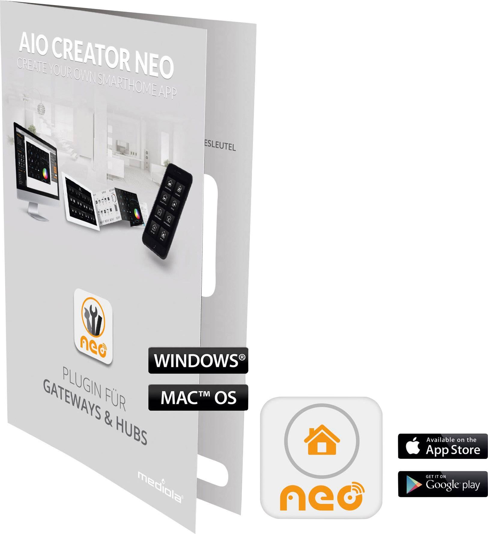 Doplňujúci software Mediola SUM-4142-b AIO CREATOR NEO Homewizard