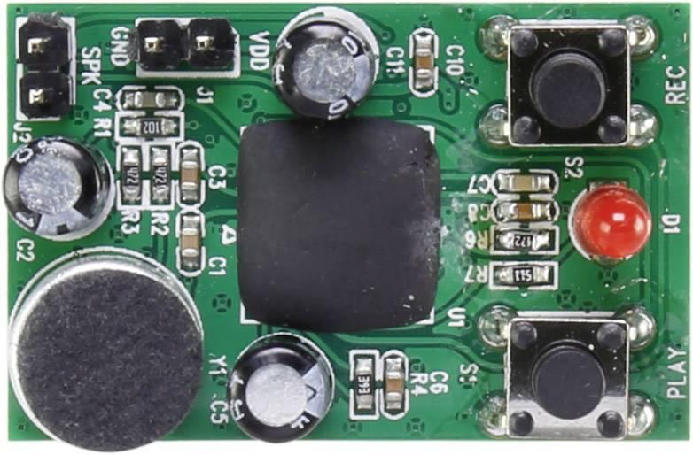Hlasový modul stavebnica Conrad Components Doba záznamu 40 s