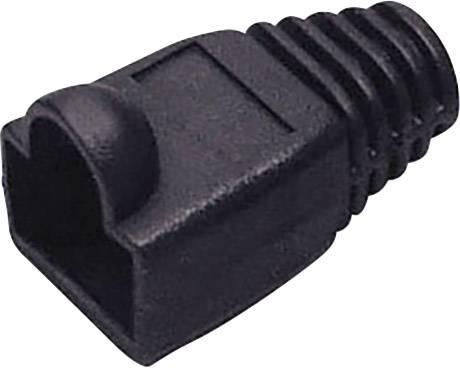 RJ45 TRU COMPONENTS 1582549, čierna, 1 ks