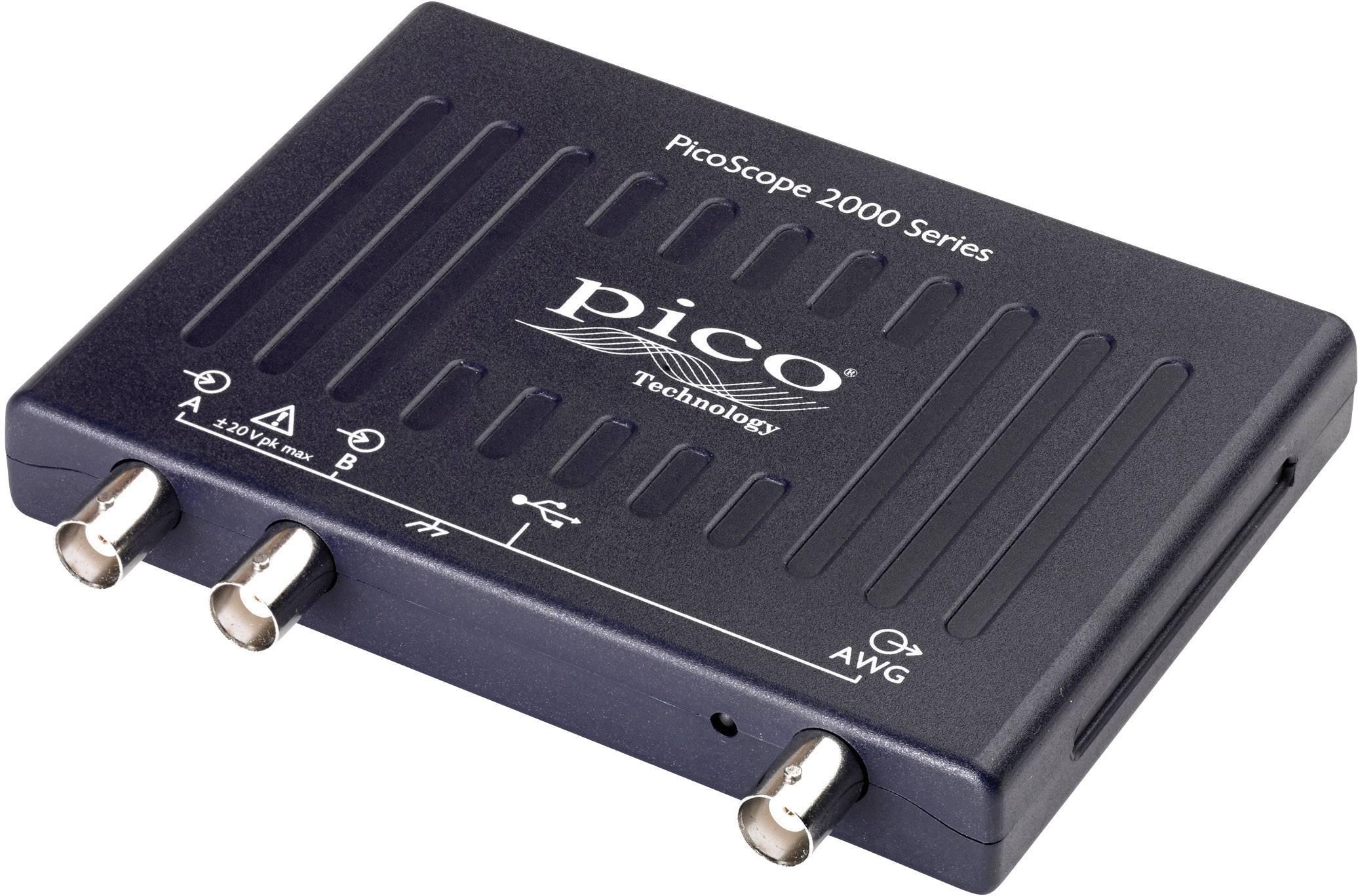USB osciloskop pico 2208B, 100 MHz, 2kanálový