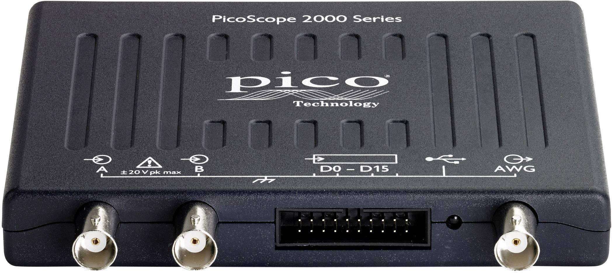 USB osciloskop pico 2205A MSO, 25 MHz, 2kanálová