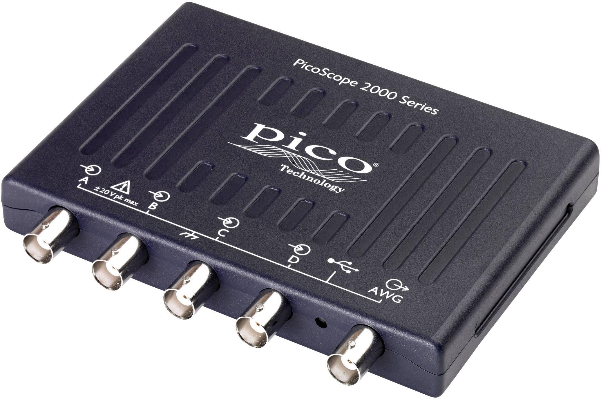 USB osciloskop pico 2406B, 50 MHz, 4kanálová