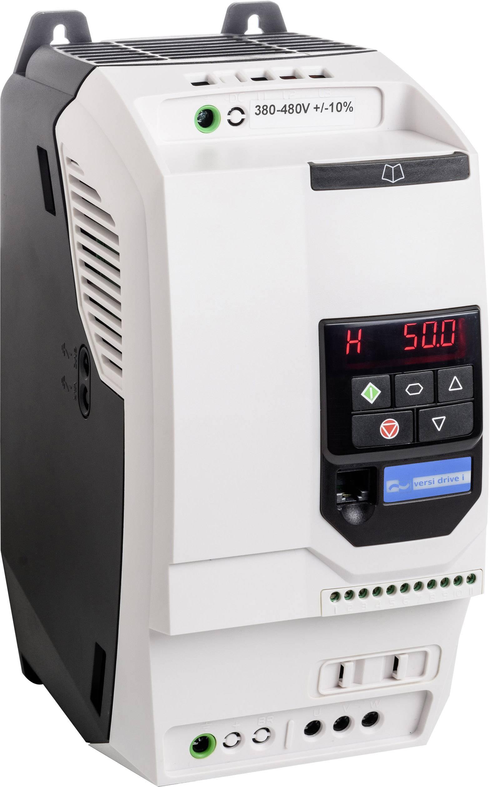 Frekvenční měnič Peter Electronic VD i 075/3E3, 0.75 kW, 2fázový, 400 V