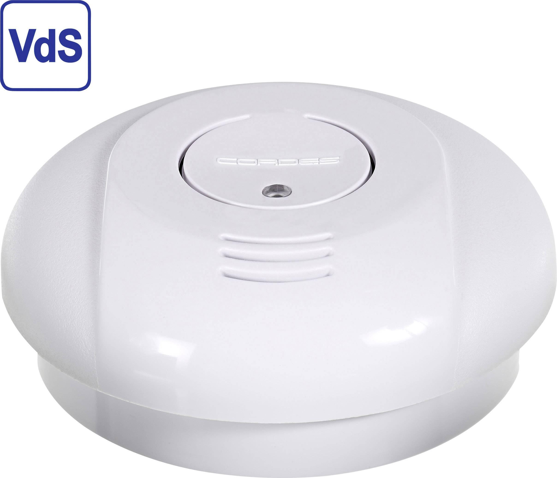 Detektor kouře Cordes Haussicherheit CC-5/evo10, vč. baterie s životností 10 let,na baterii