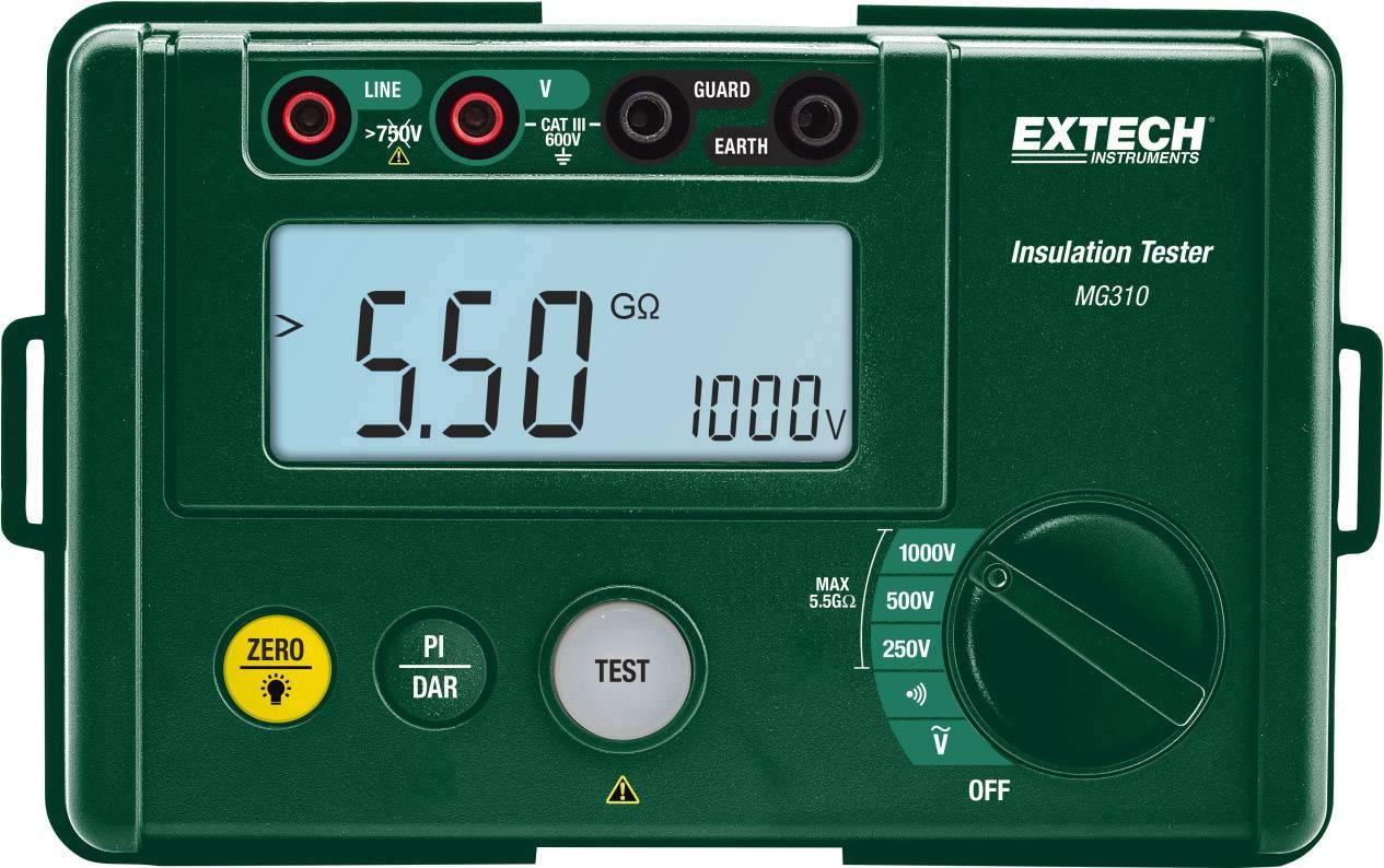 Tester izolací Extech MG310