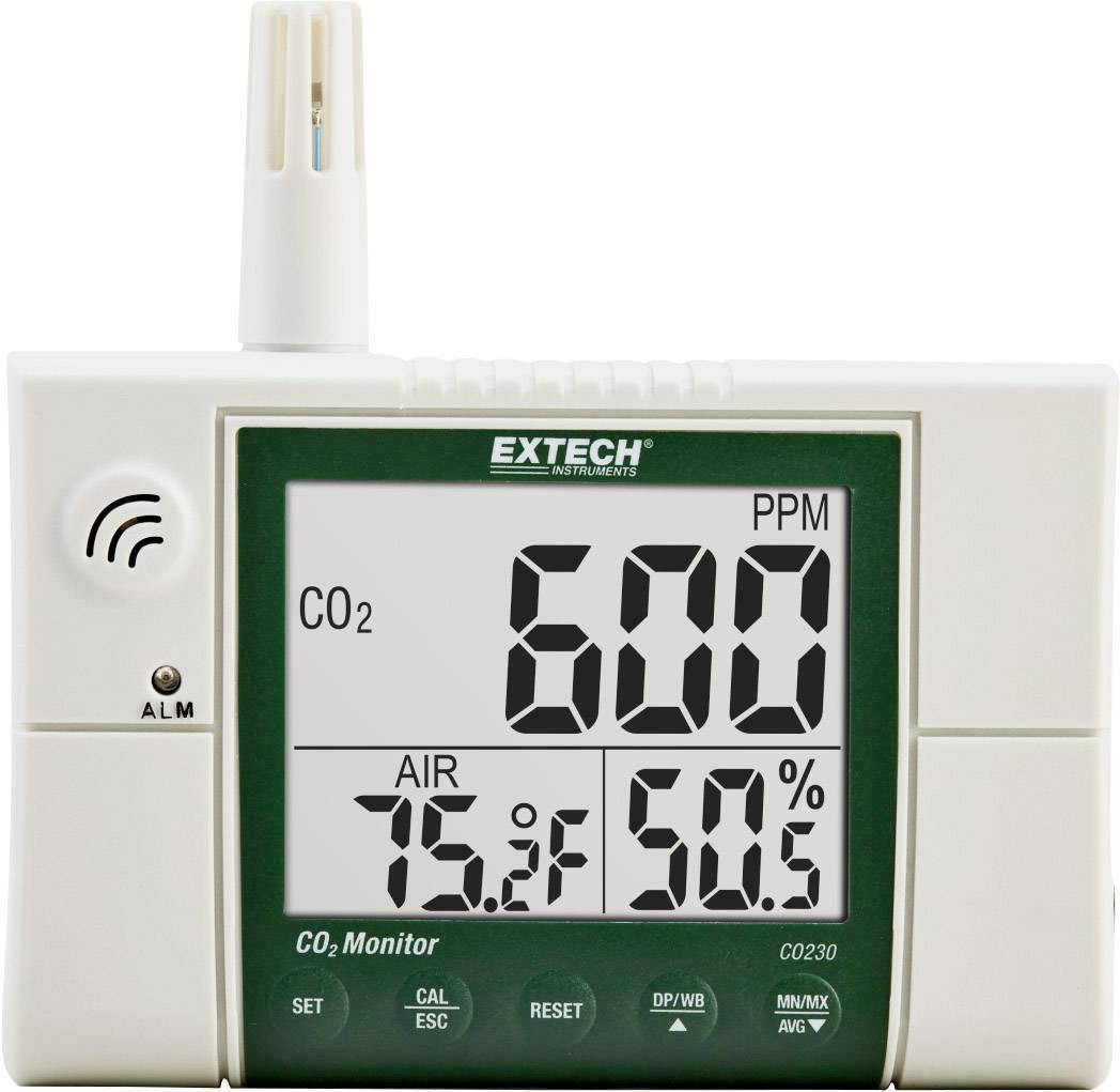 Měřič oxidu uhličitého (CO2) Extech CO230, 0 - 2000 ppm