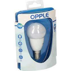 LED žárovka Opple 695671262800 230 V, E14, 6.5 W = 40 W, teplá bílá, A (A++ - E), kapkovitý tvar, 1 ks