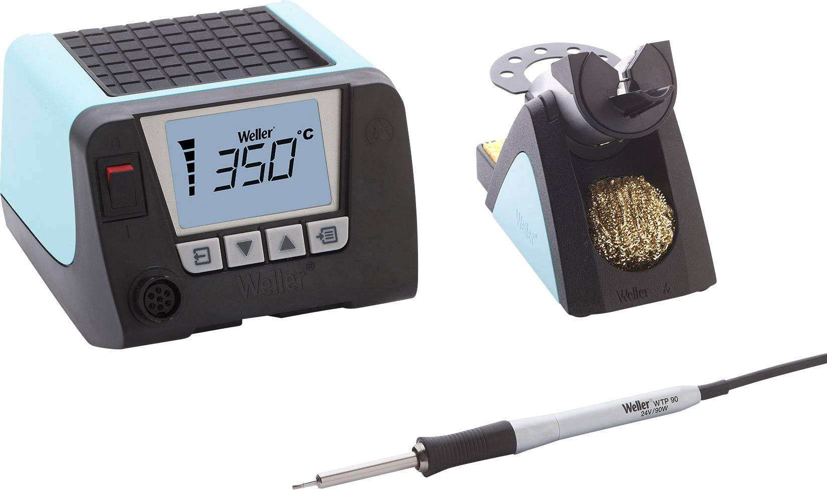 Sada pájecí stanice Weller Professional WT 1010 T0053436699, digitální, 90 W, 50 až 550 °C