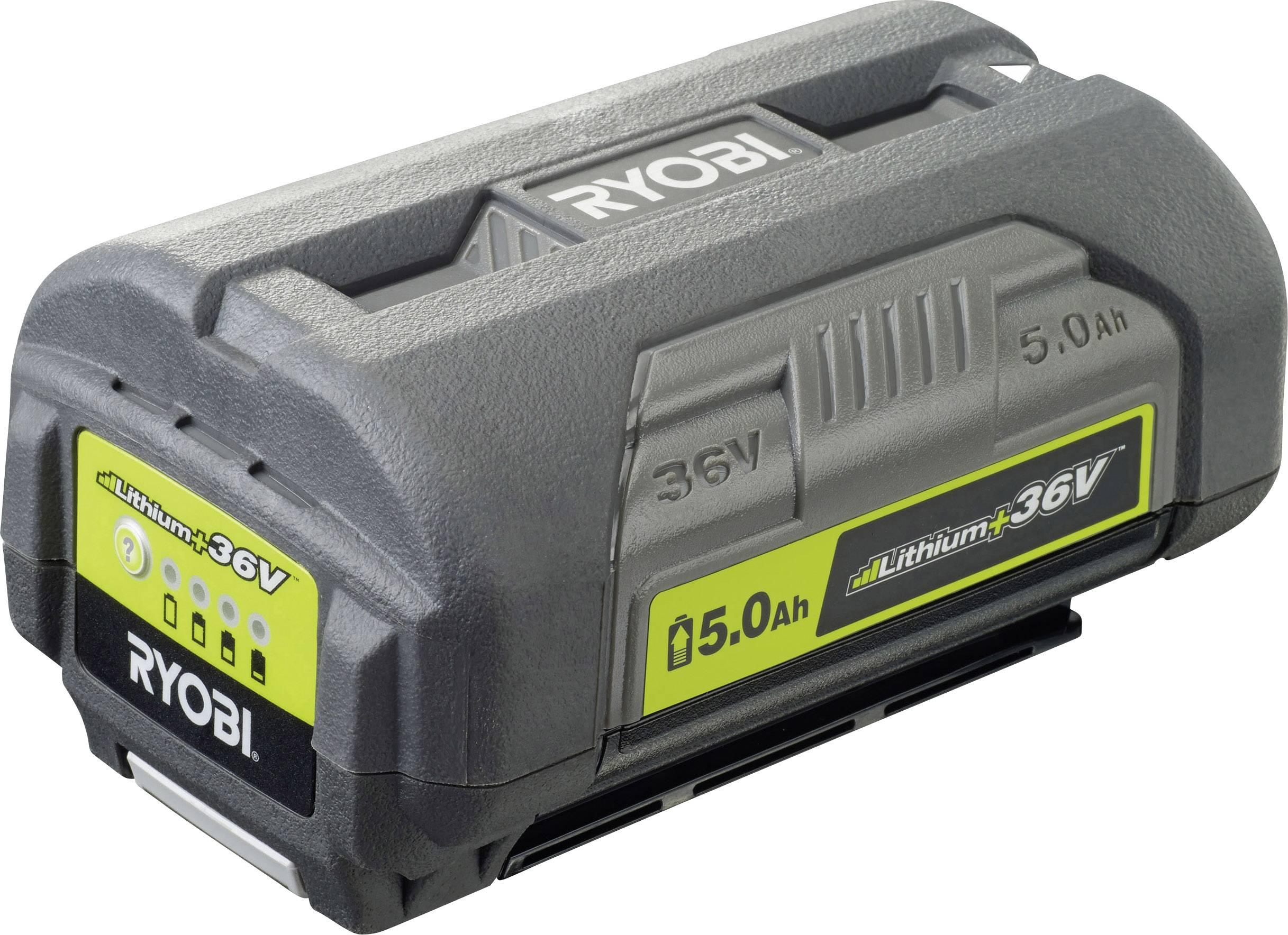 Náhradní akumulátor pro elektrické nářadí, Ryobi BPL3650D 5133002166, 36 V, 5 Ah, Li-Ion akumulátor