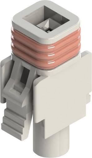 Zásuvkové púzdro na kábel EDAC 572-001-000-200, 9.20 mm, pólů 1, rozteč 5.08 mm, 1 ks