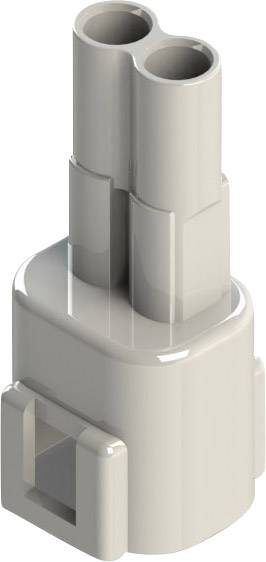Zástrčkový konektor na kabel EDAC 572-002-000-100, 16 mm, pólů 2, rozteč 5.08 mm, 1 ks