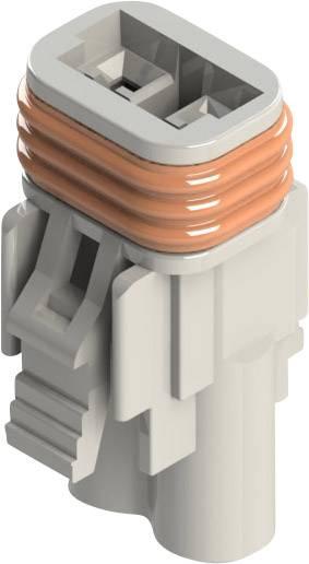 Zásuvkové púzdro na kábel EDAC 572-002-000-200, 12.20 mm, pólů 2, rozteč 5.08 mm, 1 ks