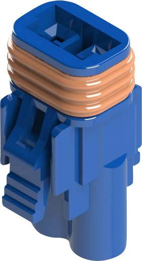 Zásuvkové púzdro na kábel EDAC 572-002-000-400, 12.20 mm, pólů 2, rozteč 5.08 mm, 1 ks