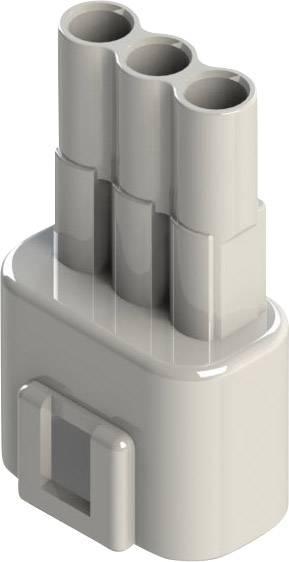 Zástrčkový konektor na kábel EDAC 572-003-000-100, 21.80 mm, pólů 3, rozteč 5.08 mm, 1 ks
