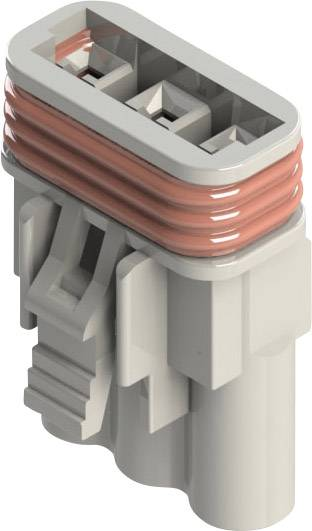 Zásuvkové púzdro na kábel EDAC 572-003-000-200, 18 mm, pólů 3, rozteč 5.08 mm, 1 ks