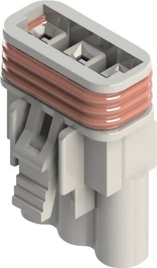 Zásuvkový konektor na kabel EDAC 572-003-000-200, 18 mm, pólů 3, rozteč 5.08 mm, 1 ks