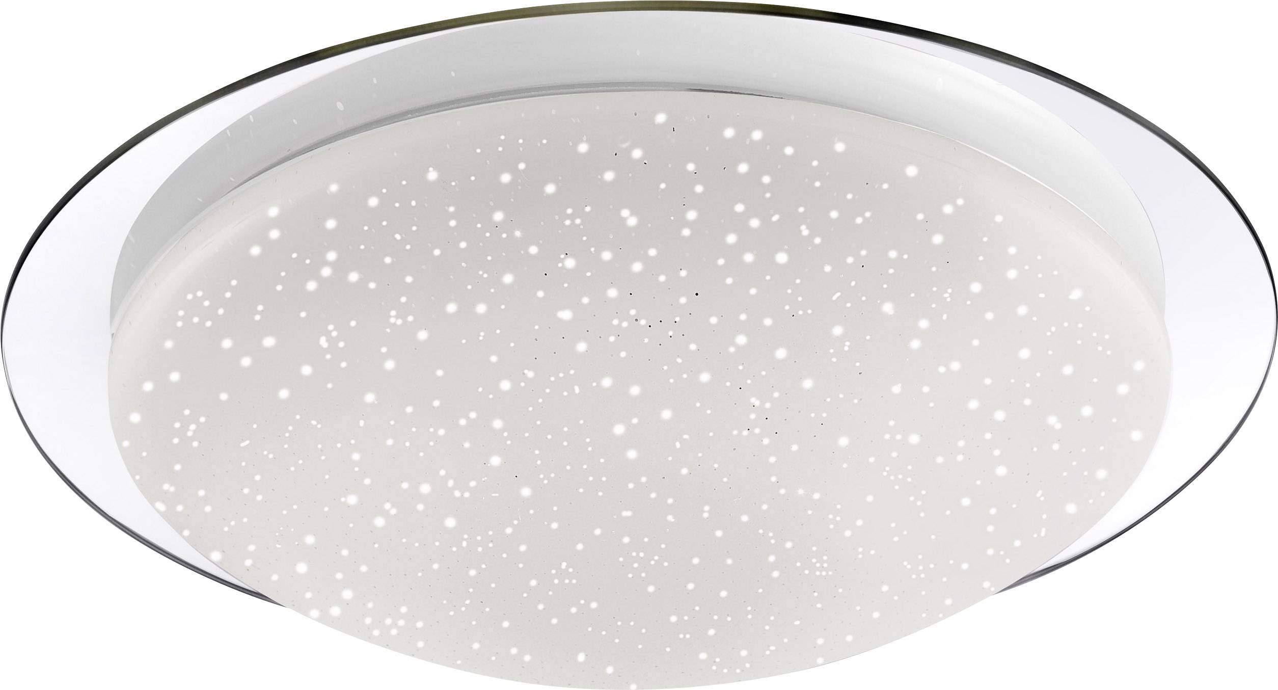 LED kúpeľňové stropné svetlo LeuchtenDirekt Skyler 14330-17, 8 W, chróm, biela