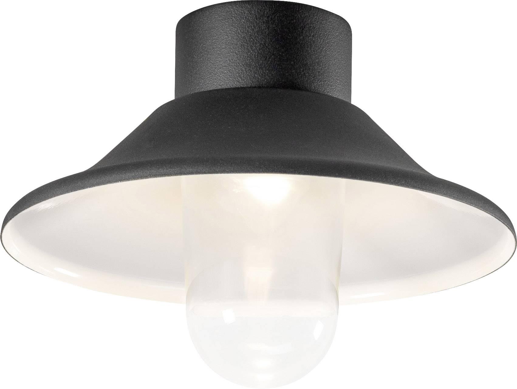 Venkovní stropní LED osvětlení Konstsmide Vega, 552-750, 8 W, teplá bílá, černá