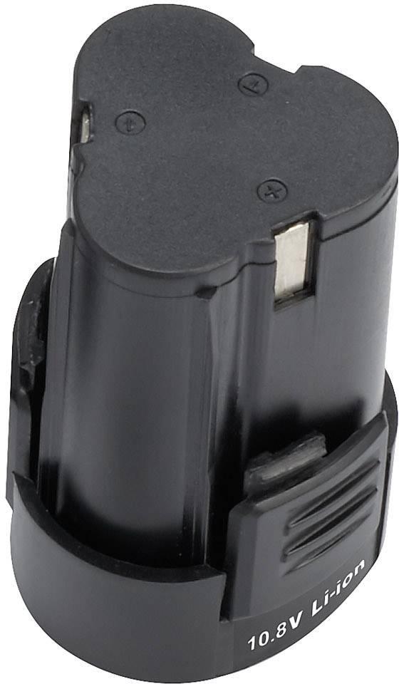 Náhradný akumulátor pre elektrické náradie, Basetech 1493004, 10.8 V, 1.5 Ah, Li-Ion akumulátor