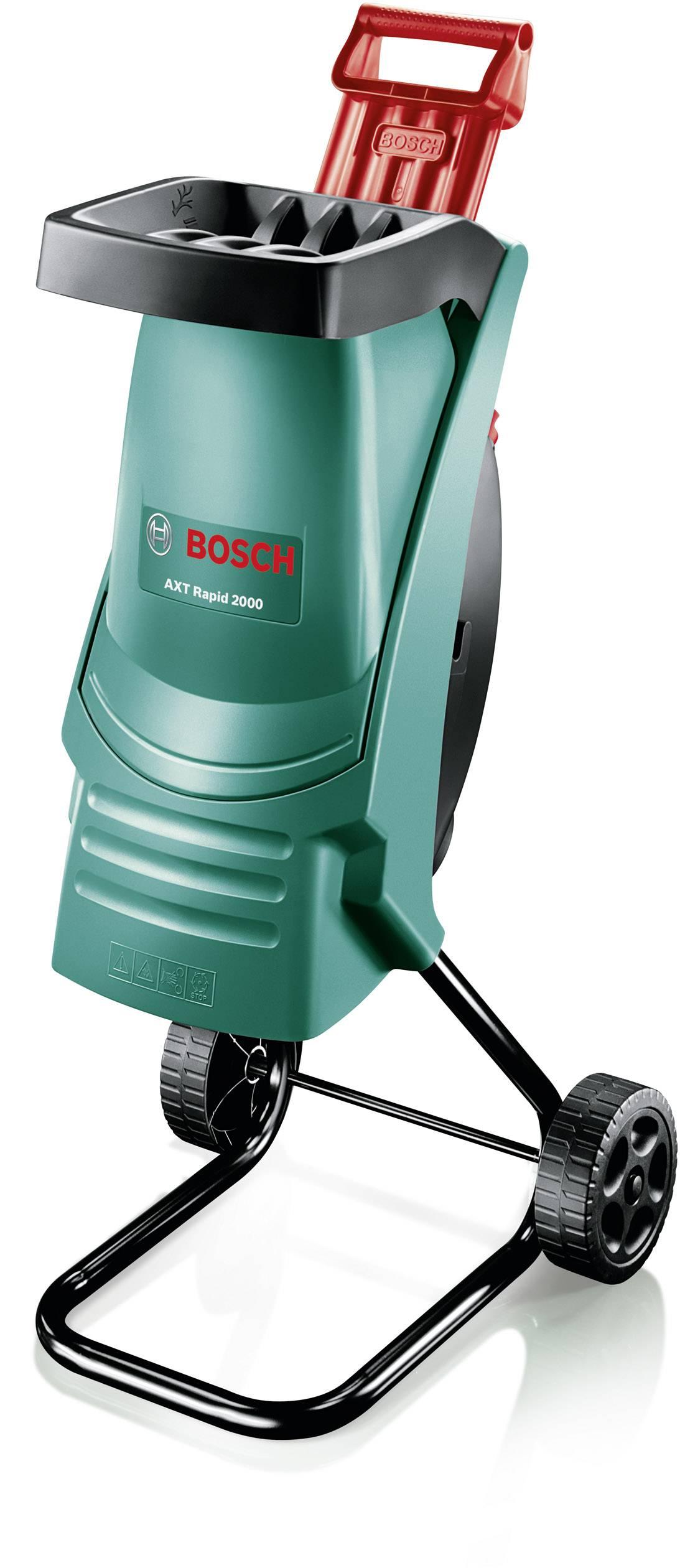 Elektrická nožový zahradní drtič AXT Rapid 2000 Bosch Home and Garden 2000 W 0600853500