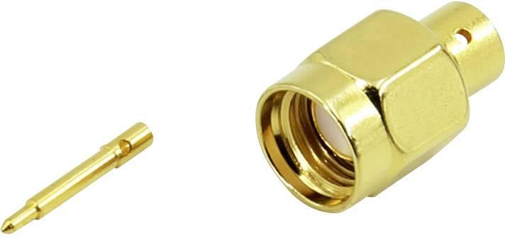 SMA konektor Conrad Components – zástrčka, rovná, 3.60 mm, 50 Ohm, 1 ks