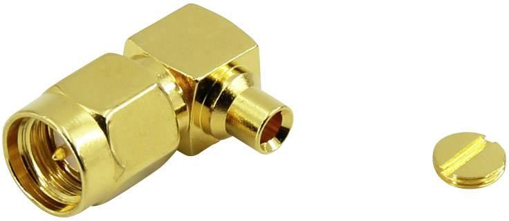 SMA konektor Conrad Components – zástrčka, zahnutá, 3.40 mm, 50 Ohm, 1 ks