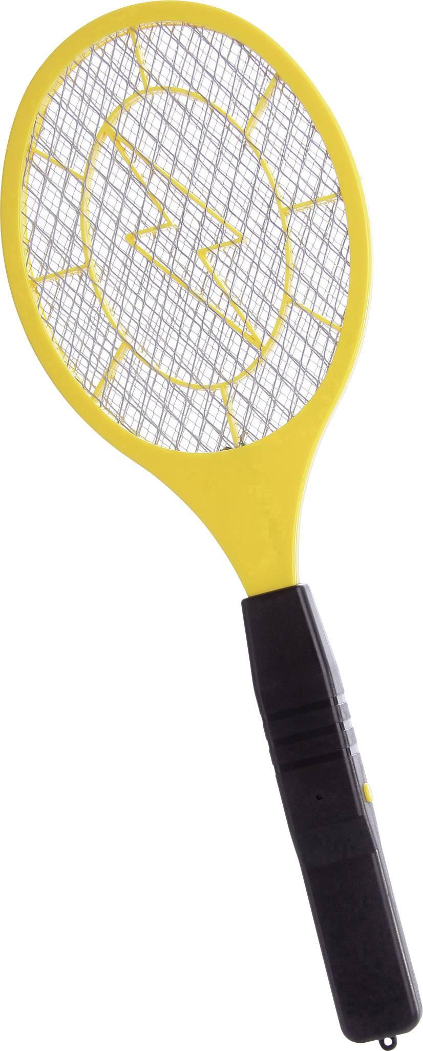 Elektrická plácačka na hmyz Basetech eSwatter, žlutočerná, 1 ks