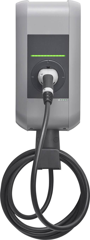 Nabíjecí stanice pro elektromobily KEBA KeContact P30, řada B, kabel 6 m, typ 2 32 A, 22 kW, s klíčem klíčový spínač