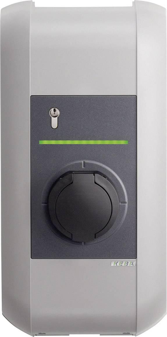 Nabíjecí stanice pro elektromobily KEBA KeContact P30, řada B, typ 2 32 A, 22 kW, s klíčem klíčový spínač