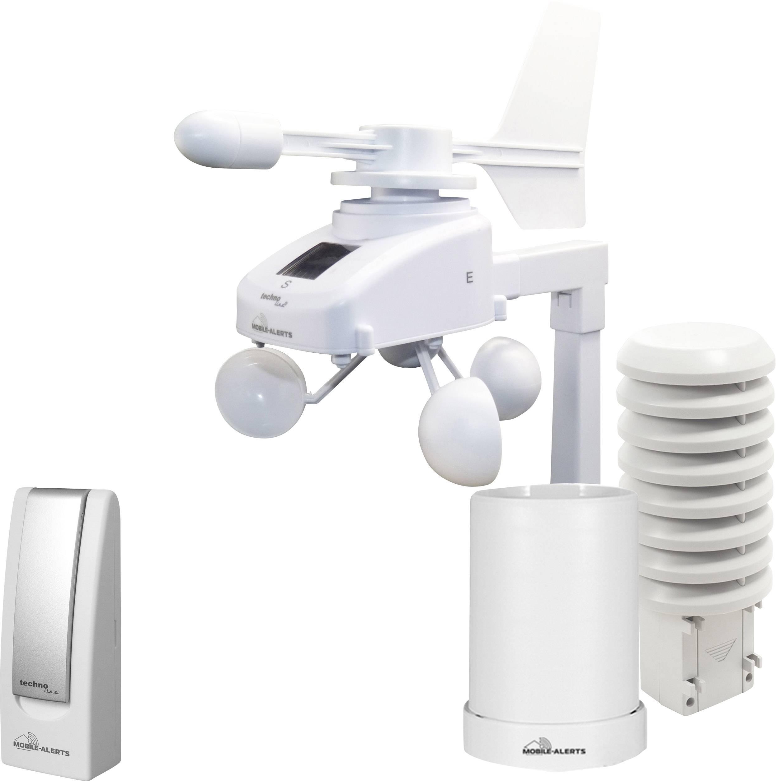 Internetová meteostanica Techno Line Mobile Alerts MA 10061 Set , biela