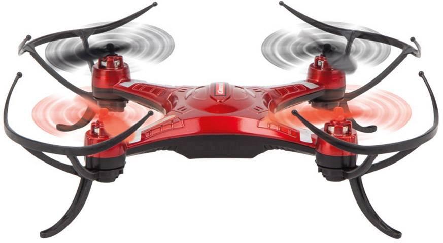 Kvadrokoptéra pro začátečníky Carrera RC Quadrocopter X-Inverter 1, RtF